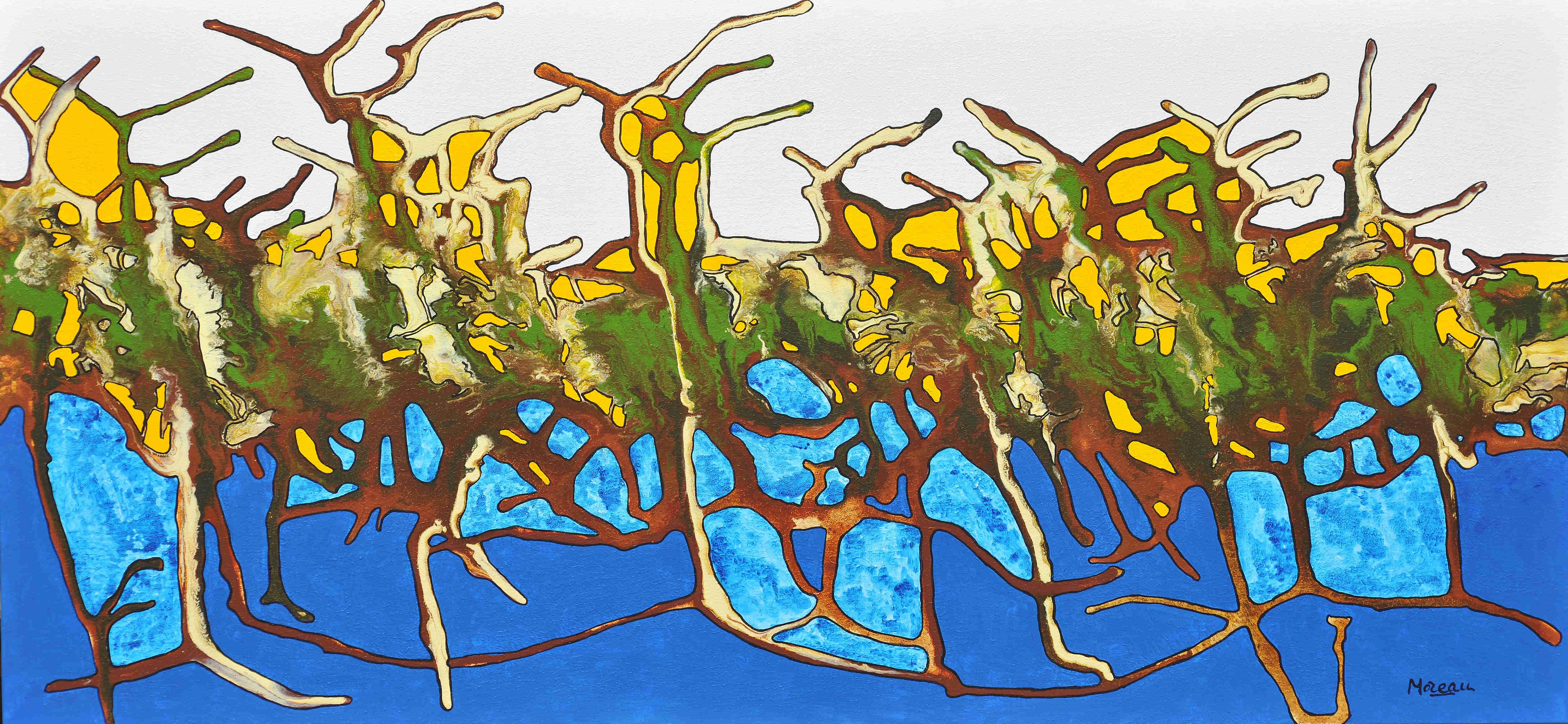 Les citronniers de la rivière maya