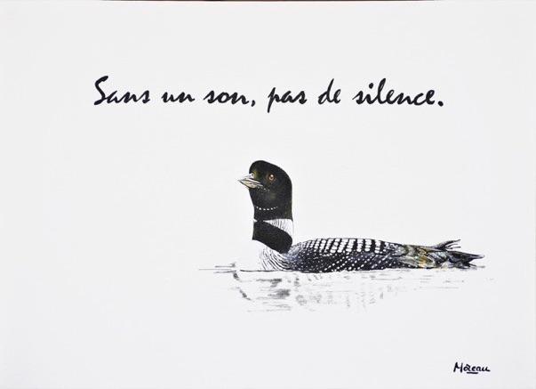 Sans un son, pas de silence